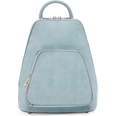Sole Society Aushan Faux Leather Backpack - Blue
