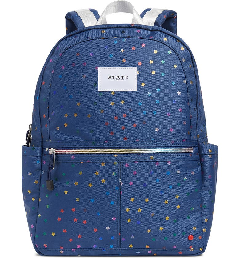 STATE BAGS Kane Rainbow Stars Backpack, Main, color, 960
