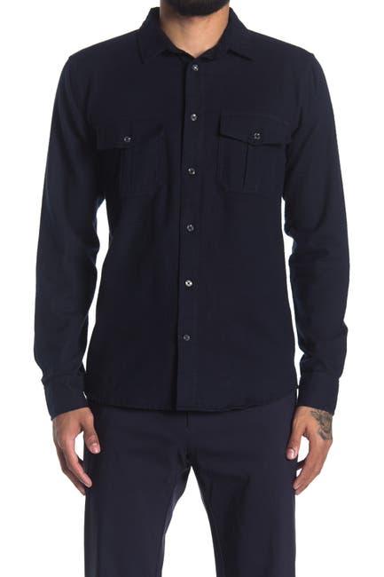 Image of Sovereign Code Hawkins Woven Long Sleeve Shirt