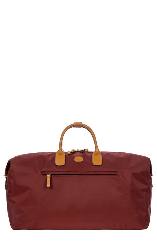 Bric's X-bag Boarding 22-inch Duffle Bag In Bordeaux