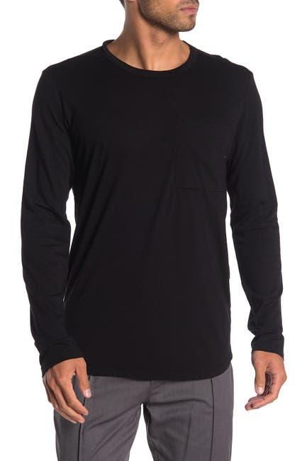 Velvet By Graham Spencer Arnie Pocket Long Sleeve T Shirt Nordstrom Rack