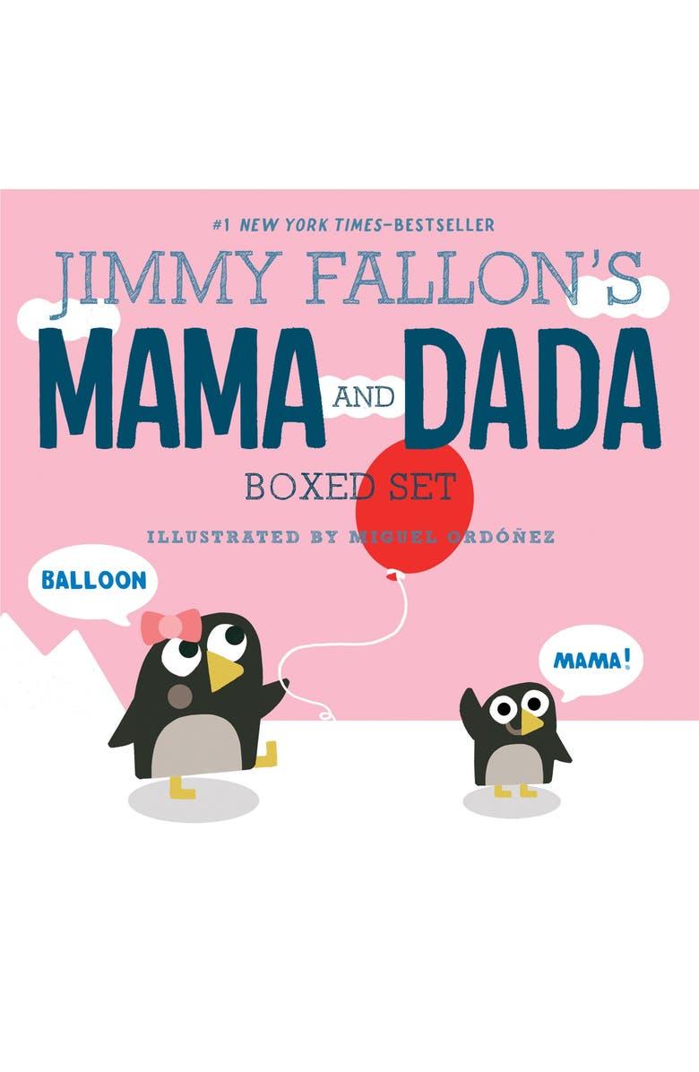 MACMILLAN Jimmy Fallon's MAMA and DADA Boxed Set, Main, color, MULTI