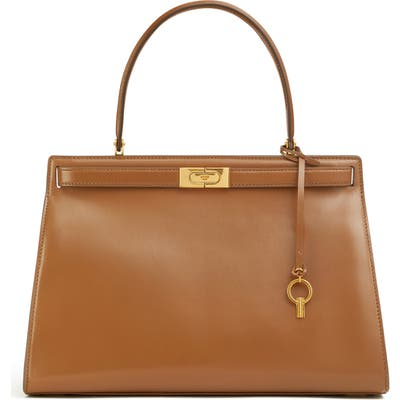 Tory Burch Large Lee Radziwill Leather Bag -