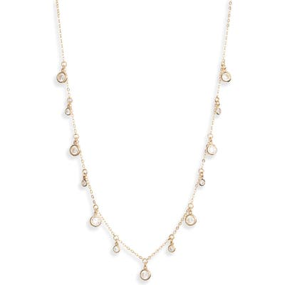 Nordstrom Shaker Crystal Necklace
