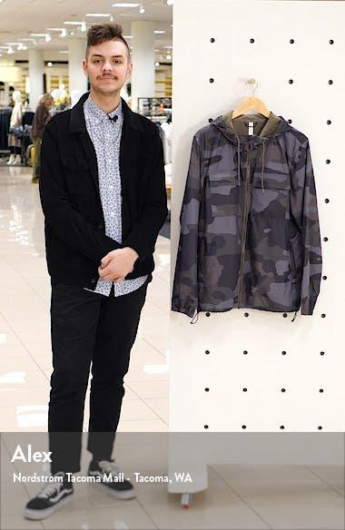Stride Camo Hooded Jacket, sales video thumbnail