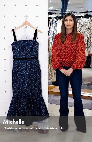 Ruffle Hem Midi Dress, sales video thumbnail