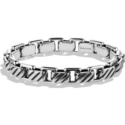 David Yurman Modern Cable Empire Link Bracelet