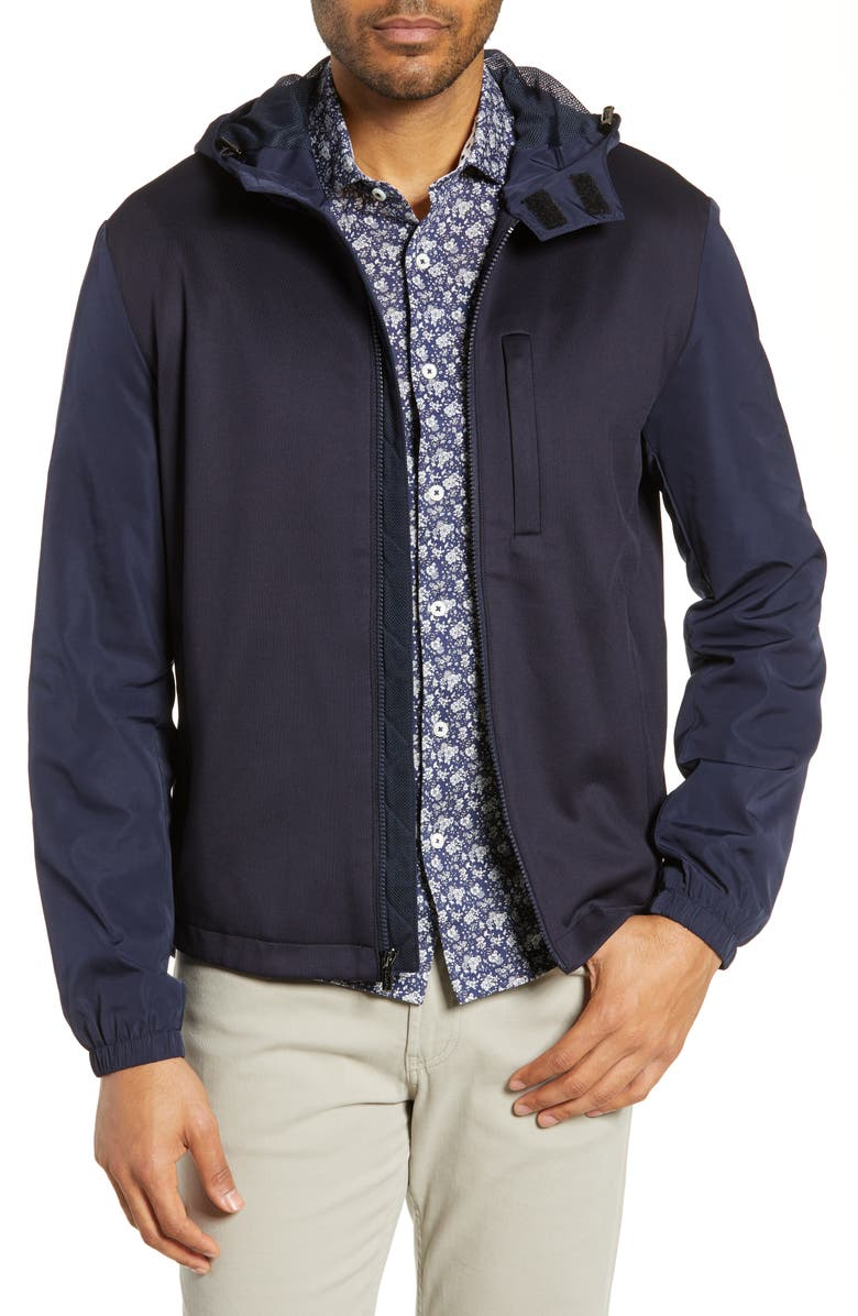 BUGATCHI Hooded Jacket, Main, color, 411