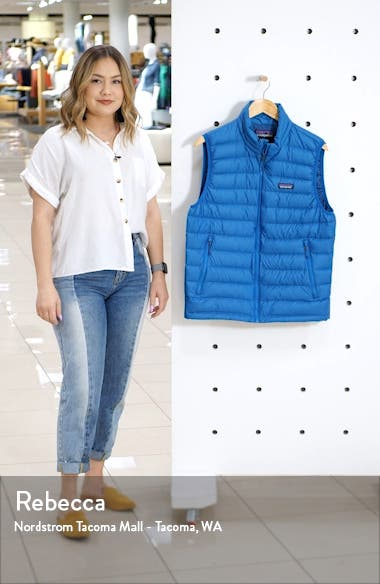 Windproof & Water Resistant 800 Fill Power Down Quilted Vest, sales video thumbnail