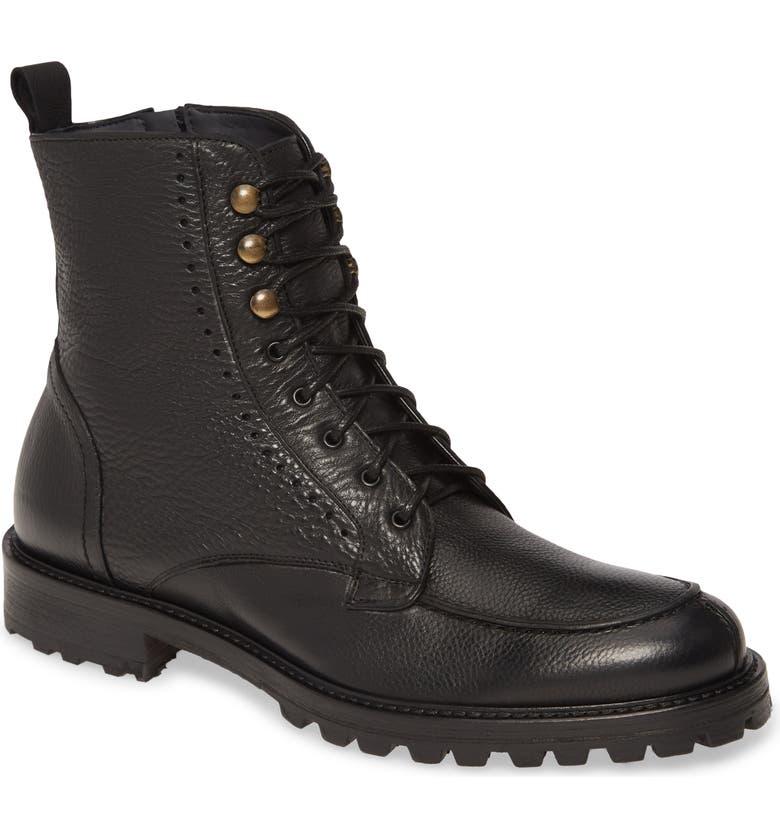 ANKARI FLORUSS Split Toe Boot, Main, color, BLACK