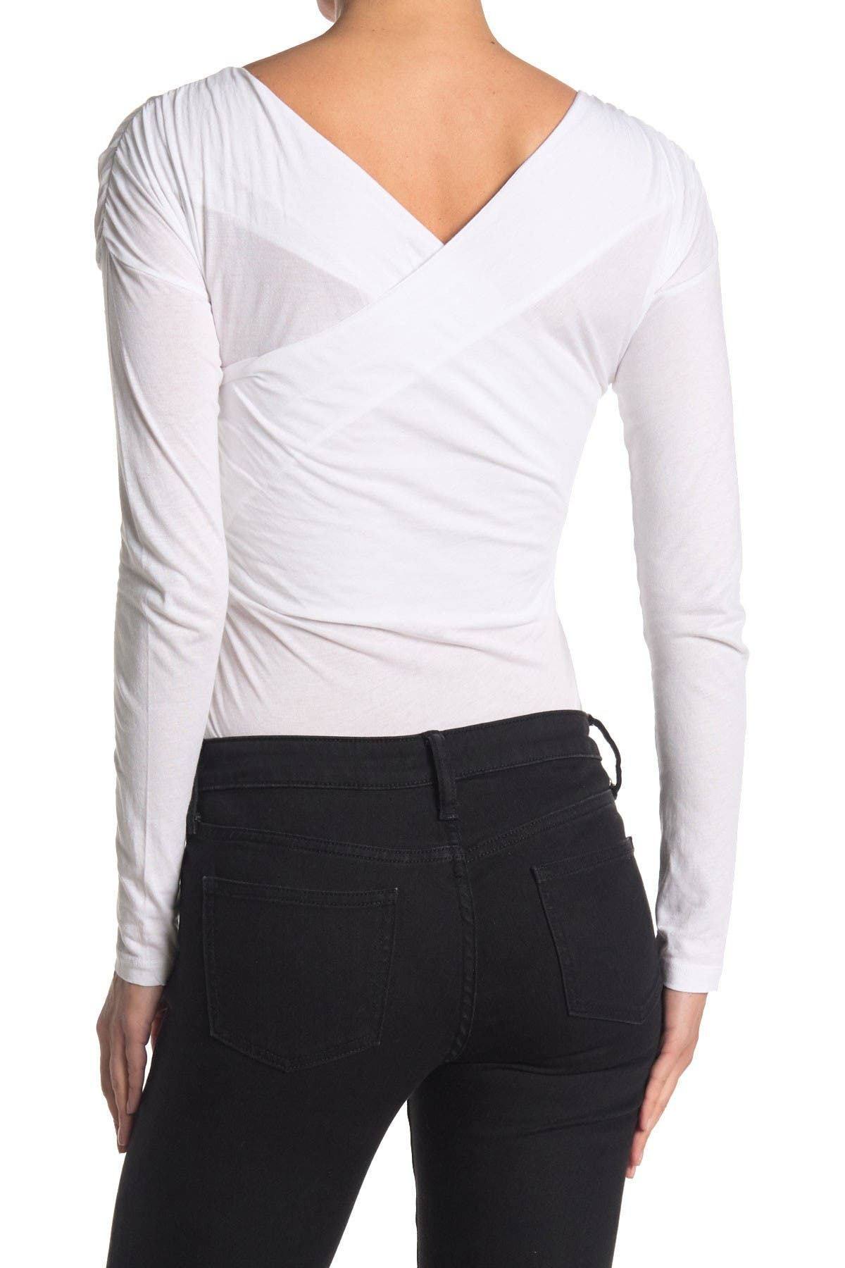 Image of Abound Long Sleeve Off the Shoulder Bodysuit
