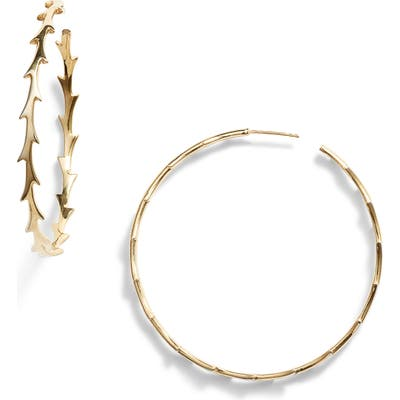 Argento Vivo X Dru. Large Thorn Hoop Earrings (Nordstrom Exclusive)