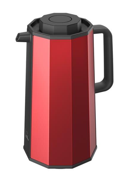 Image of ZOJIRUSHI Glass Vacuum Carafe - Red