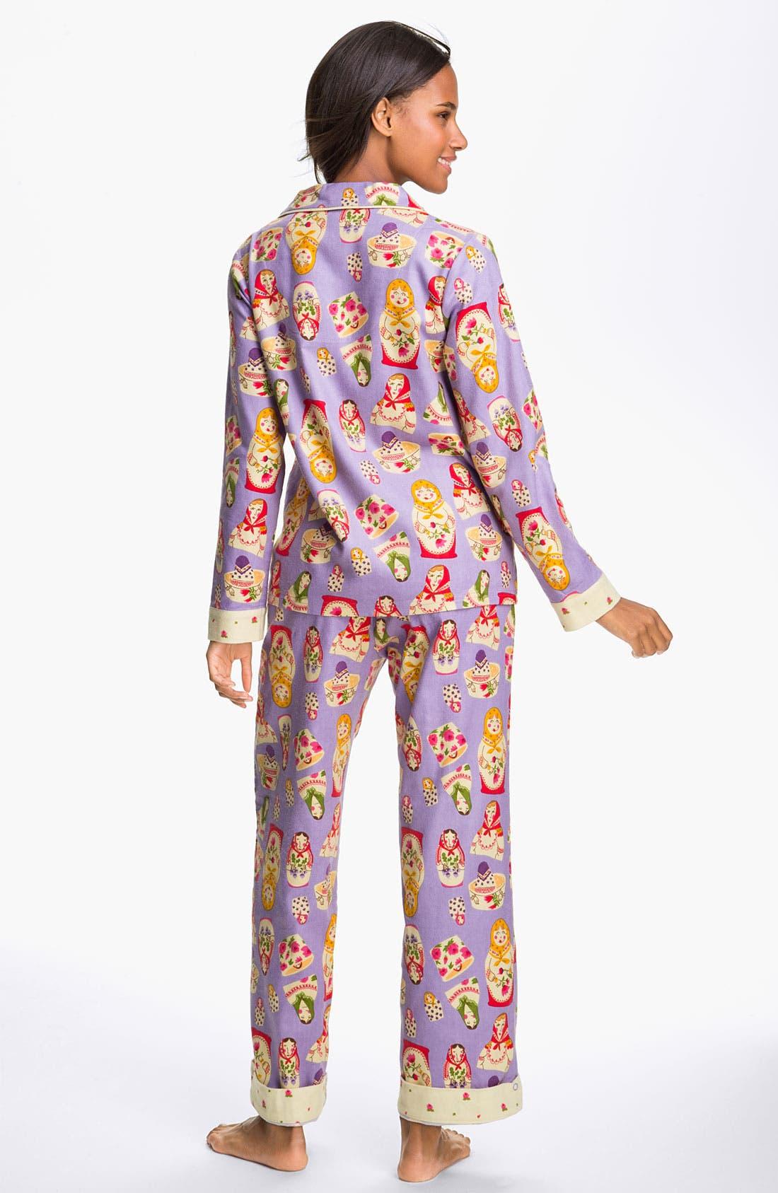 ,                             Flannel Pajamas,                             Alternate thumbnail 64, color,                             540