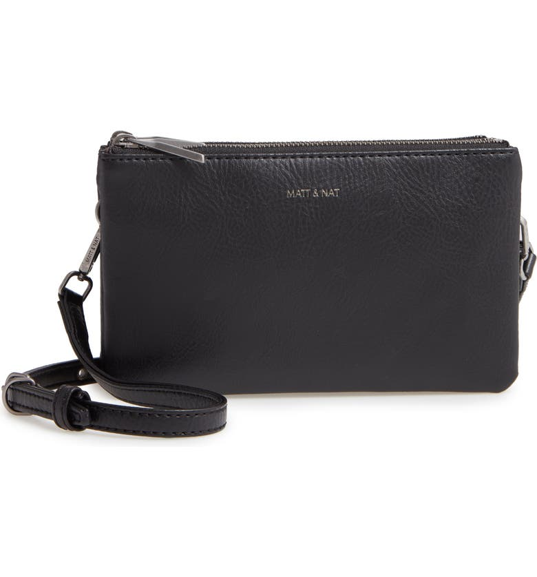 MATT & NAT t Triplet Faux Leather Crossbody, Main, color, 014