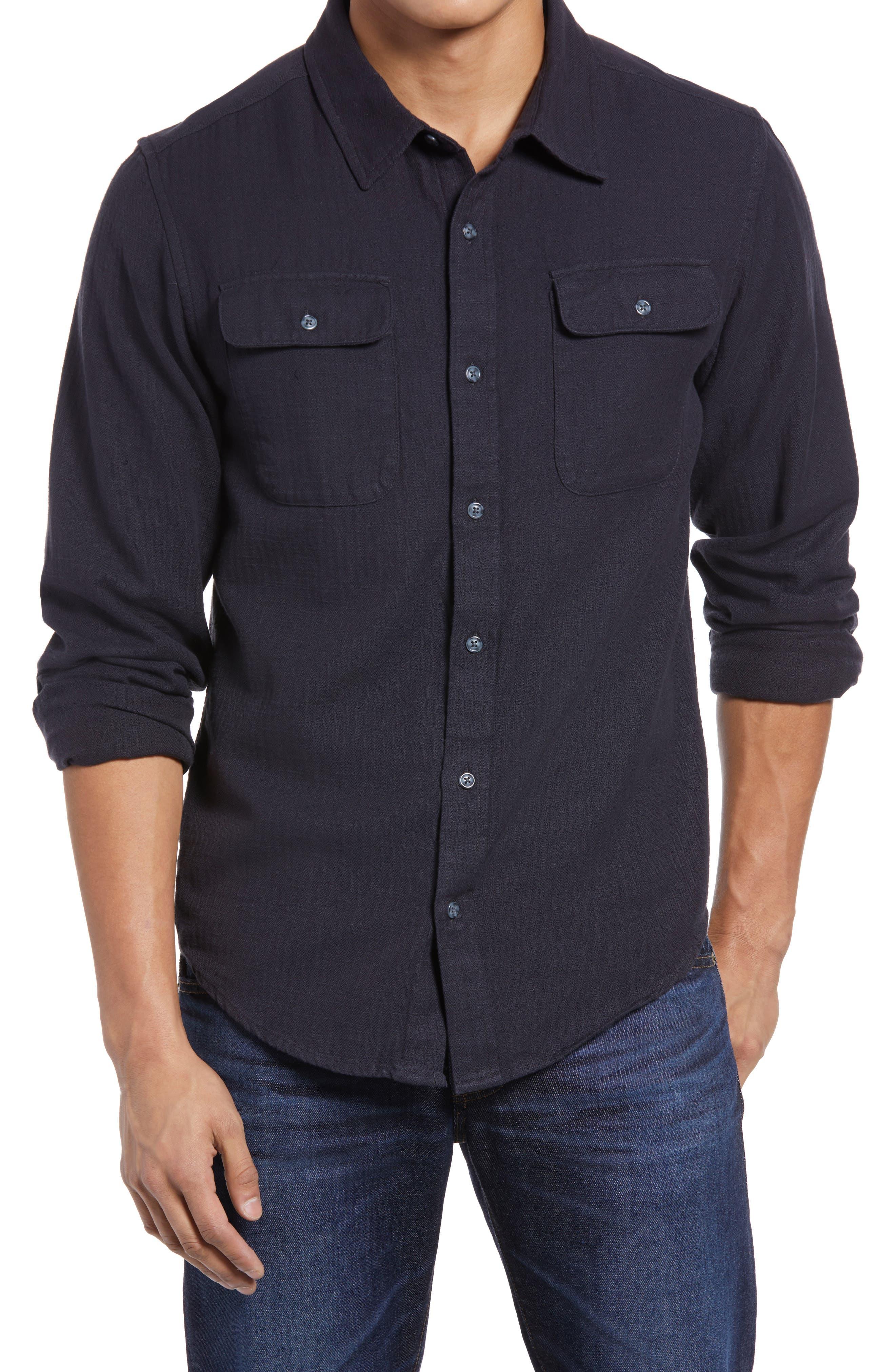 Bedford Organic Cotton Button-Up Shirt