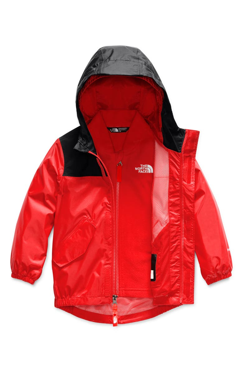 THE NORTH FACE Stormy Rain Triclimate<sup>®</sup> Waterproof 3-in-1 Jacket, Main, color, 601