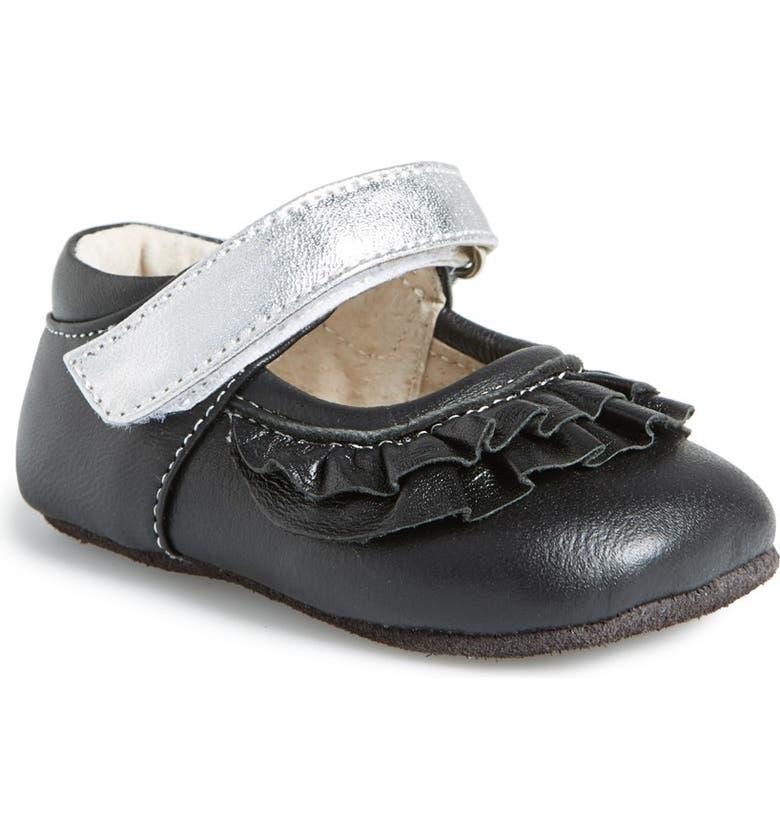 SEE KAI RUN 'Kristine' Crib Shoe, Main, color, 001