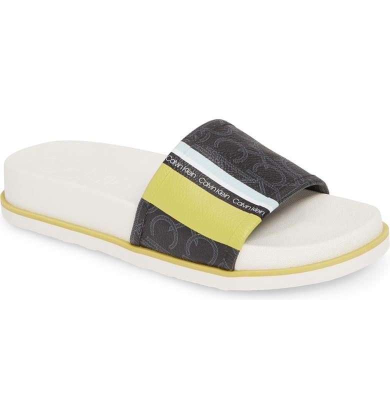 CALVIN KLEIN Marlo Slide Sandal, Main, color, 013