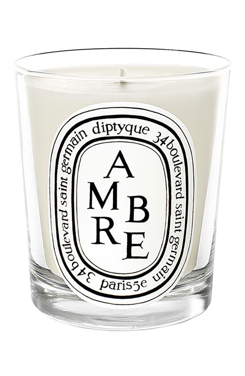 DIPTYQUE Ambre Scented Candle, Main, color, 000