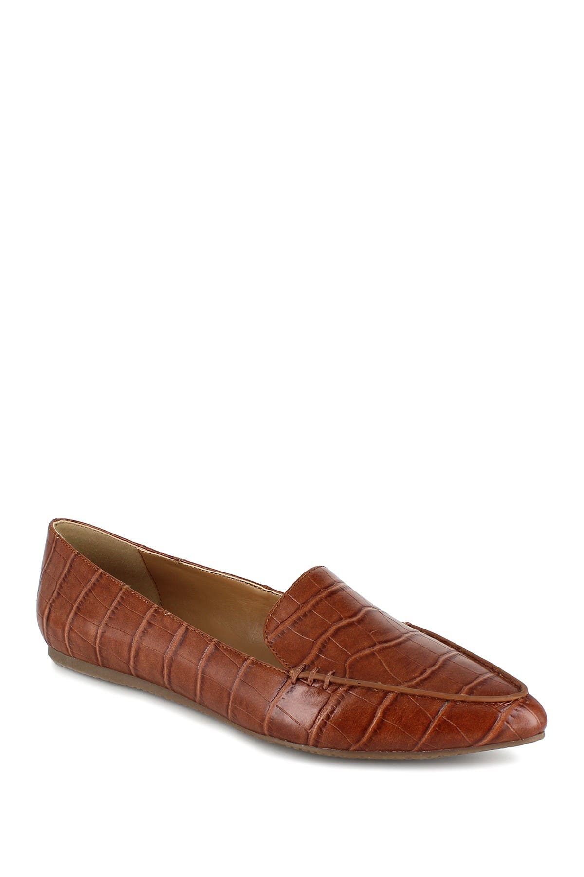 Image of Esprit Blaire Croc Embossed Flat