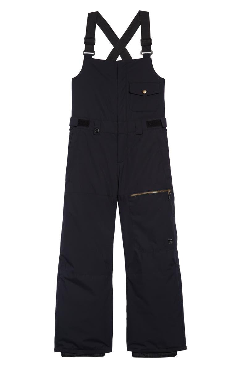 QUIKSILVER Utility Waterproof Snow Pants, Main, color, BLACK