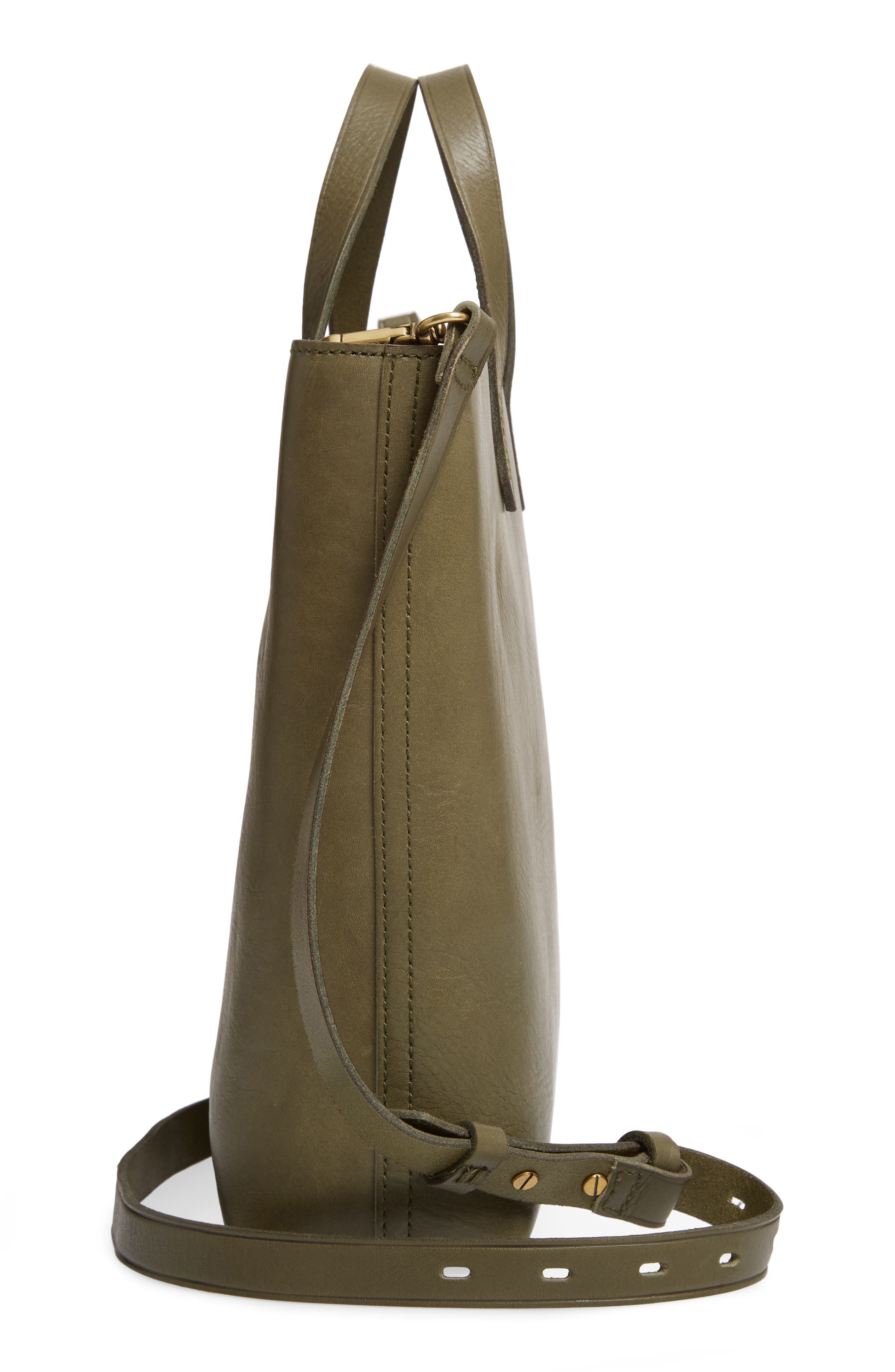 ,                             Small Transport Leather Crossbody Tote,                             Alternate thumbnail 48, color,                             300