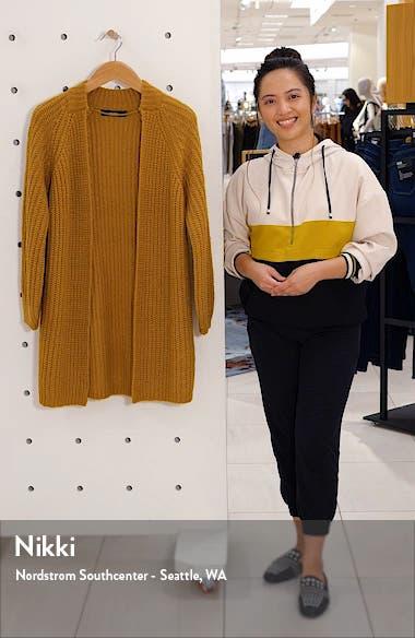 Poca Open Front Sweater Coat, sales video thumbnail