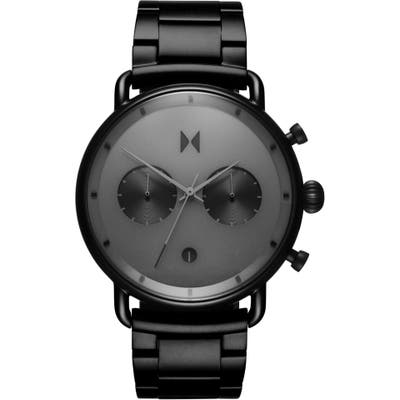 Mvmt Blacktop Chronograph Bracelet Watch, 47Mm