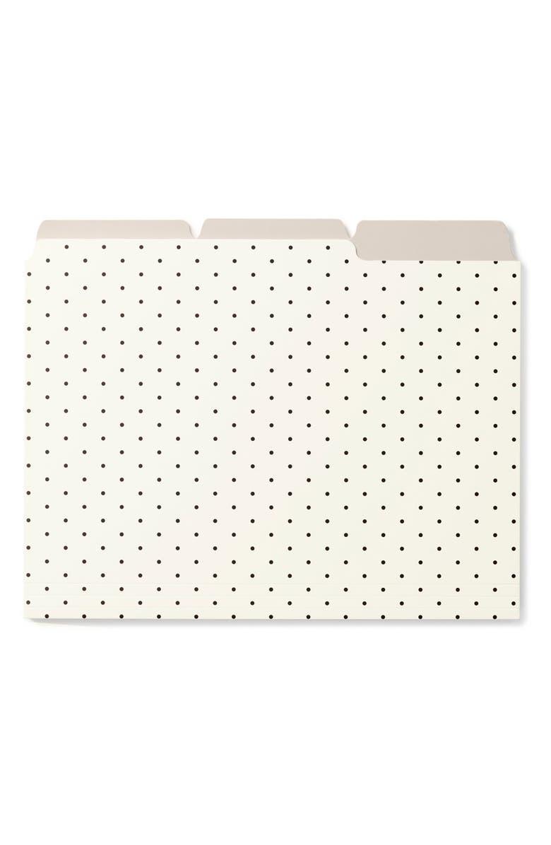 KATE SPADE NEW YORK 'bikini dot' file folder, Main, color, 900