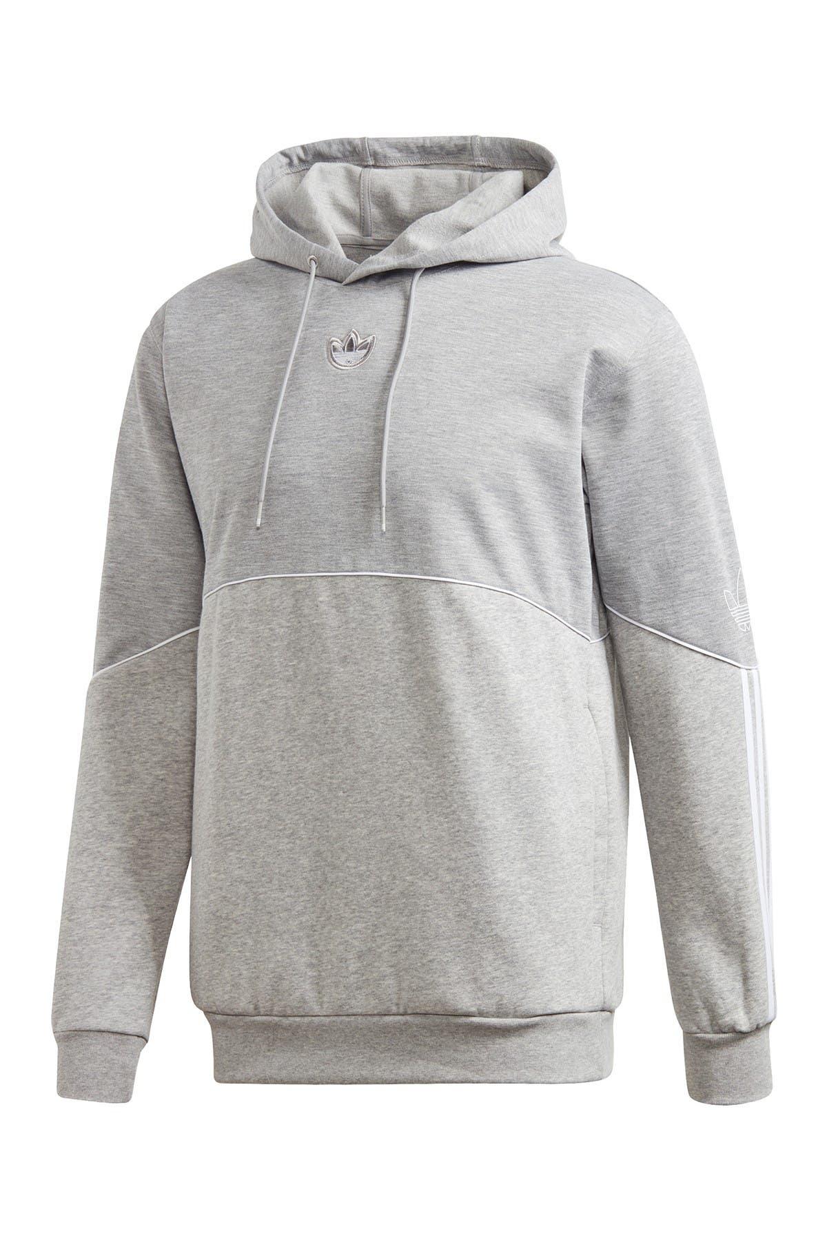 Image of adidas Outline Fleece Hoodie