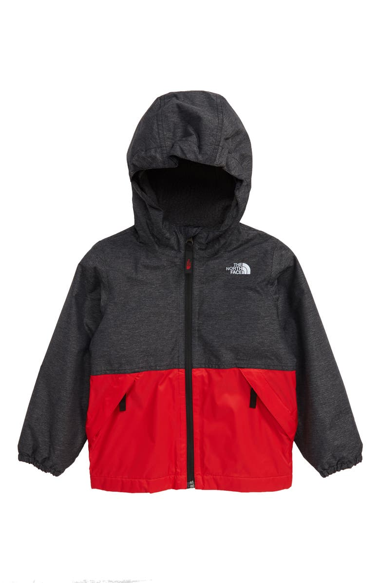 THE NORTH FACE Warm Storm Hooded Waterproof Jacket, Main, color, 001