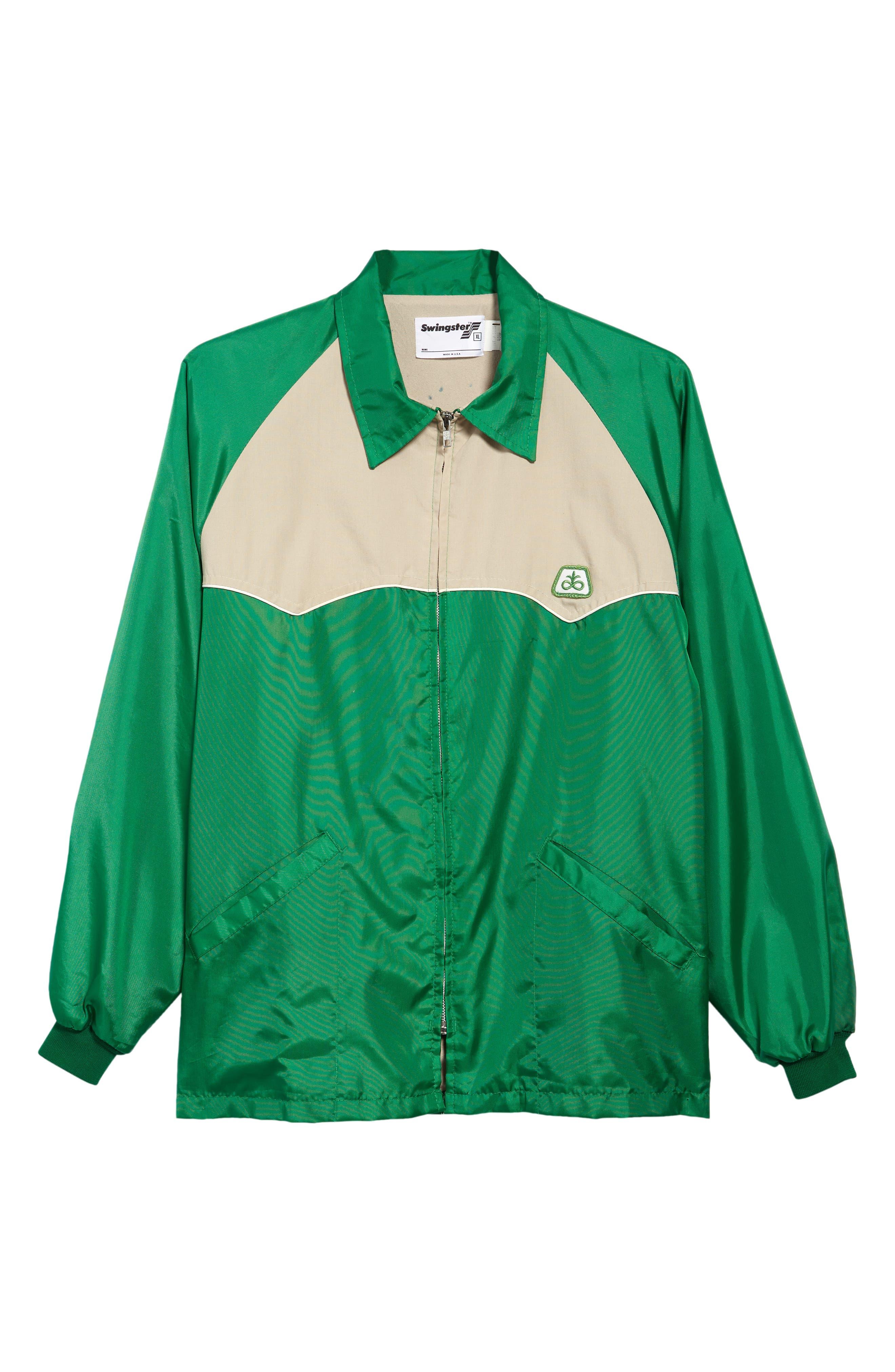 Unisex Vintage '80S Swingster Windbreaker Jacket