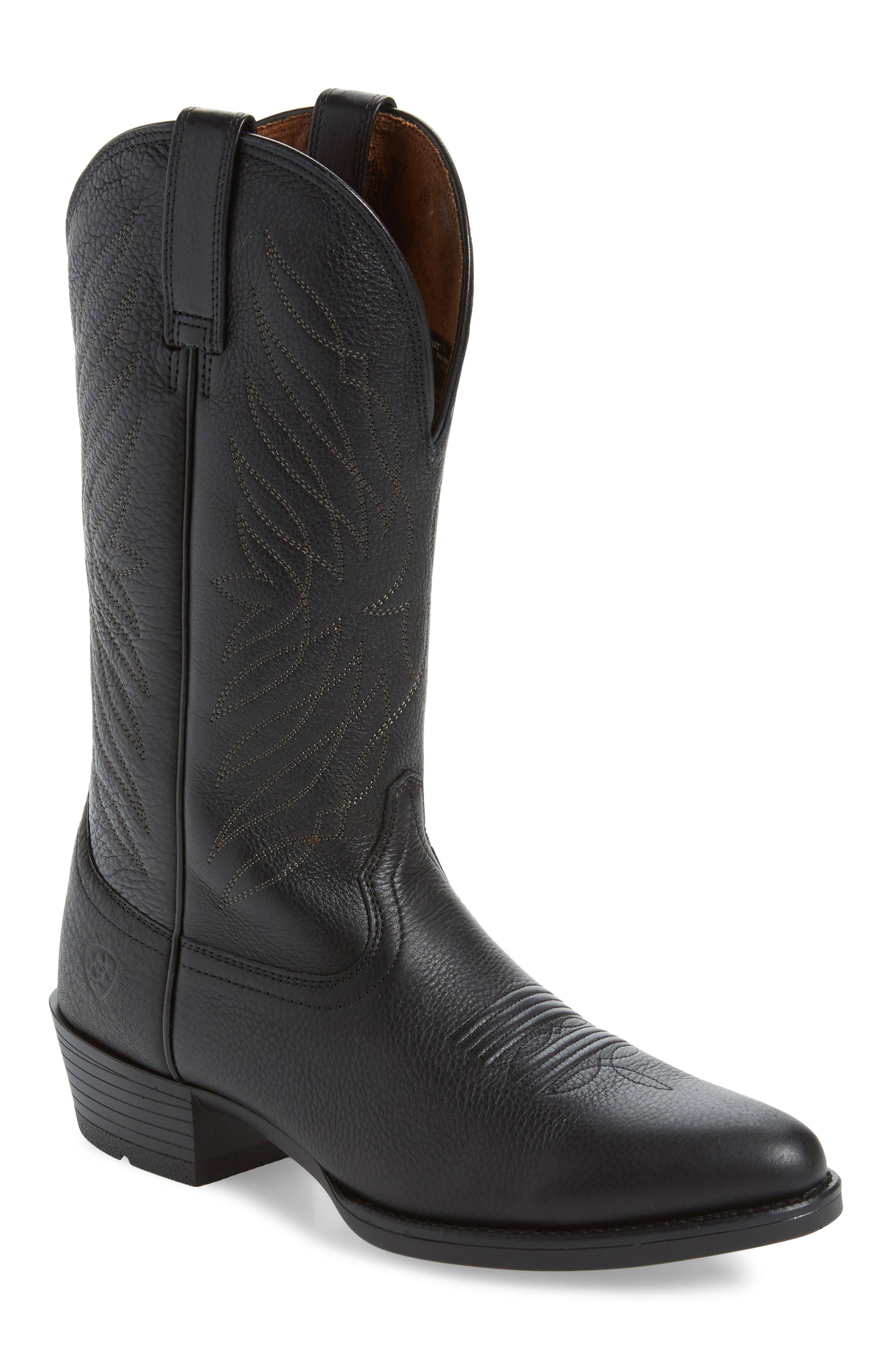 Ariat Uptown Ultra Cowboy Boot, Black