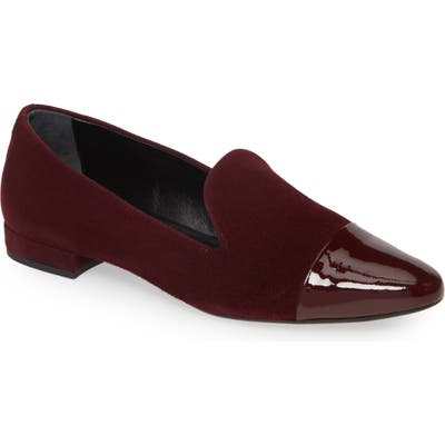 Agl Cap Toe Loafer, Burgundy