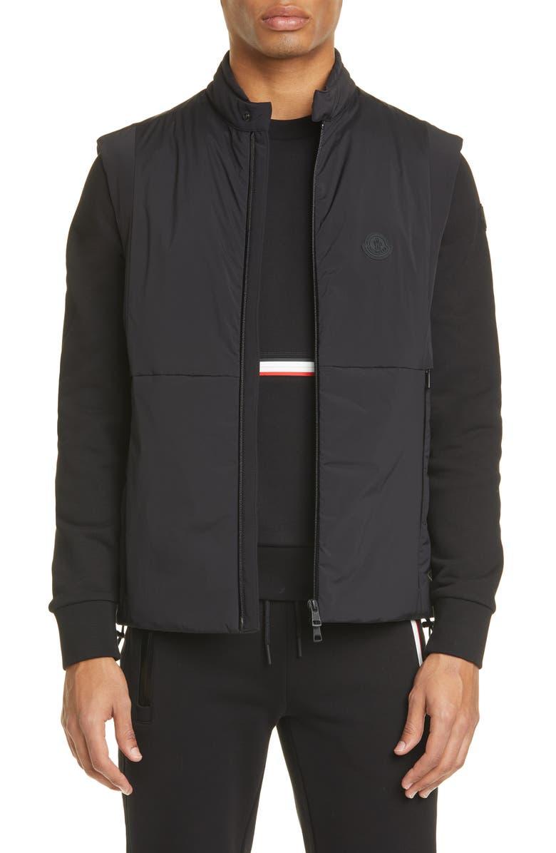 MONCLER Chabod Vest, Main, color, BLACK