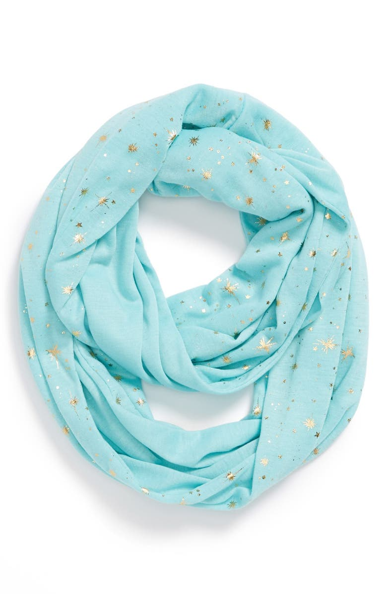 THE ACCESSORY COLLECTIVE 'Star' Infinity Scarf, Main, color, 400