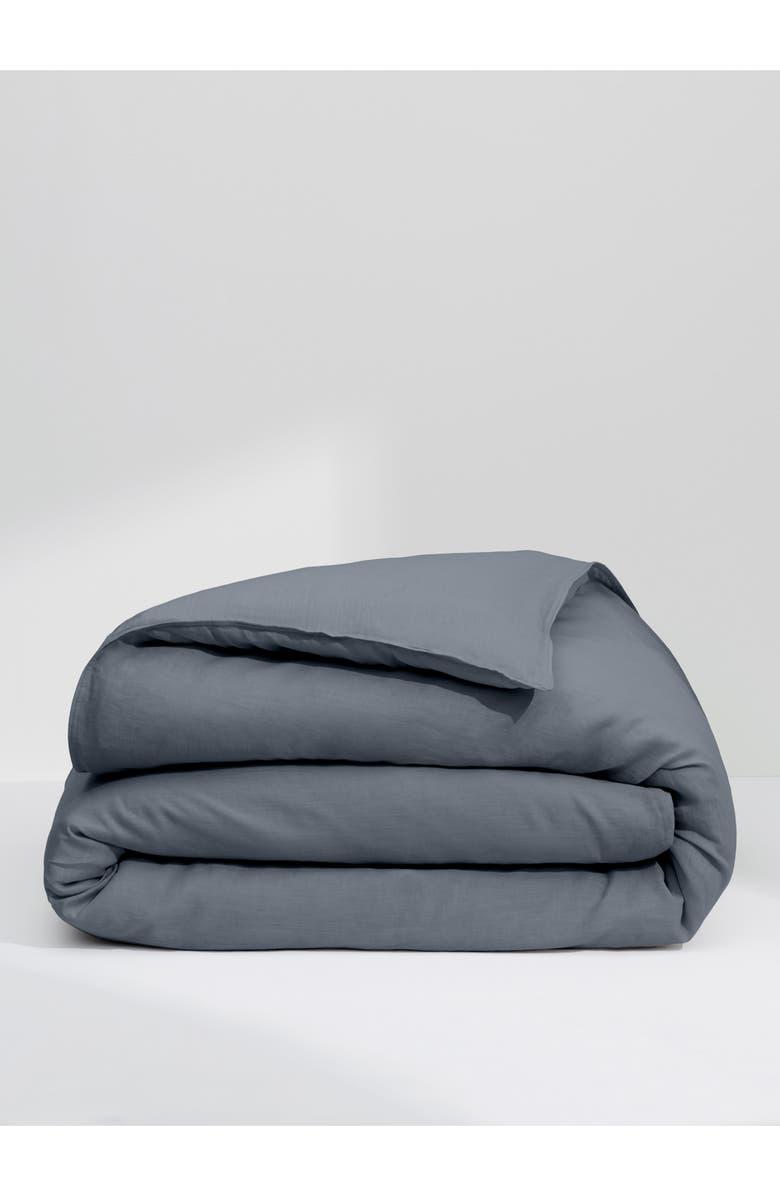 CASPER The Linen Duvet Cover, Main, color, 020