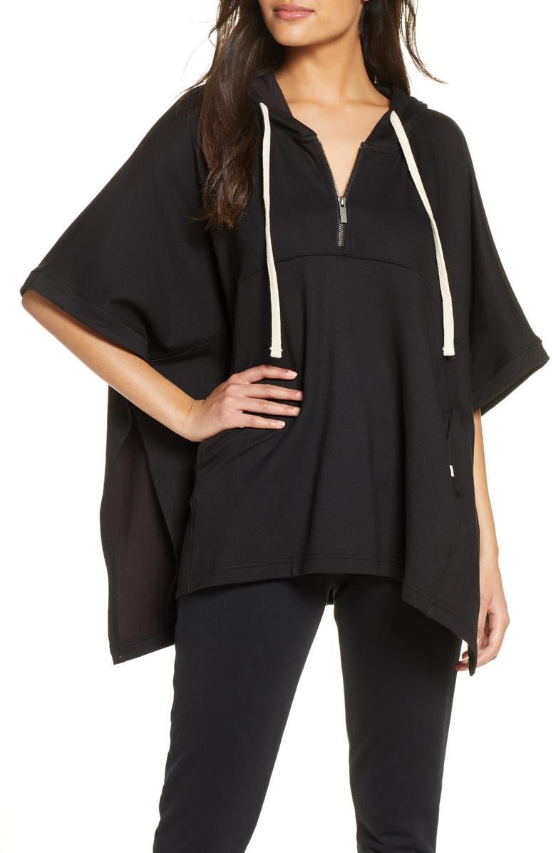 UGG<SUP>®</SUP> Anissa Poncho, Main, color, BLACK