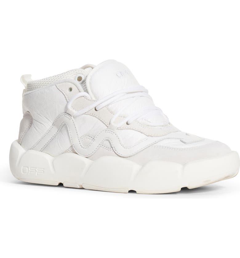 OFF-WHITE Optic Chlorine Mid Top Sneaker, Main, color, 100