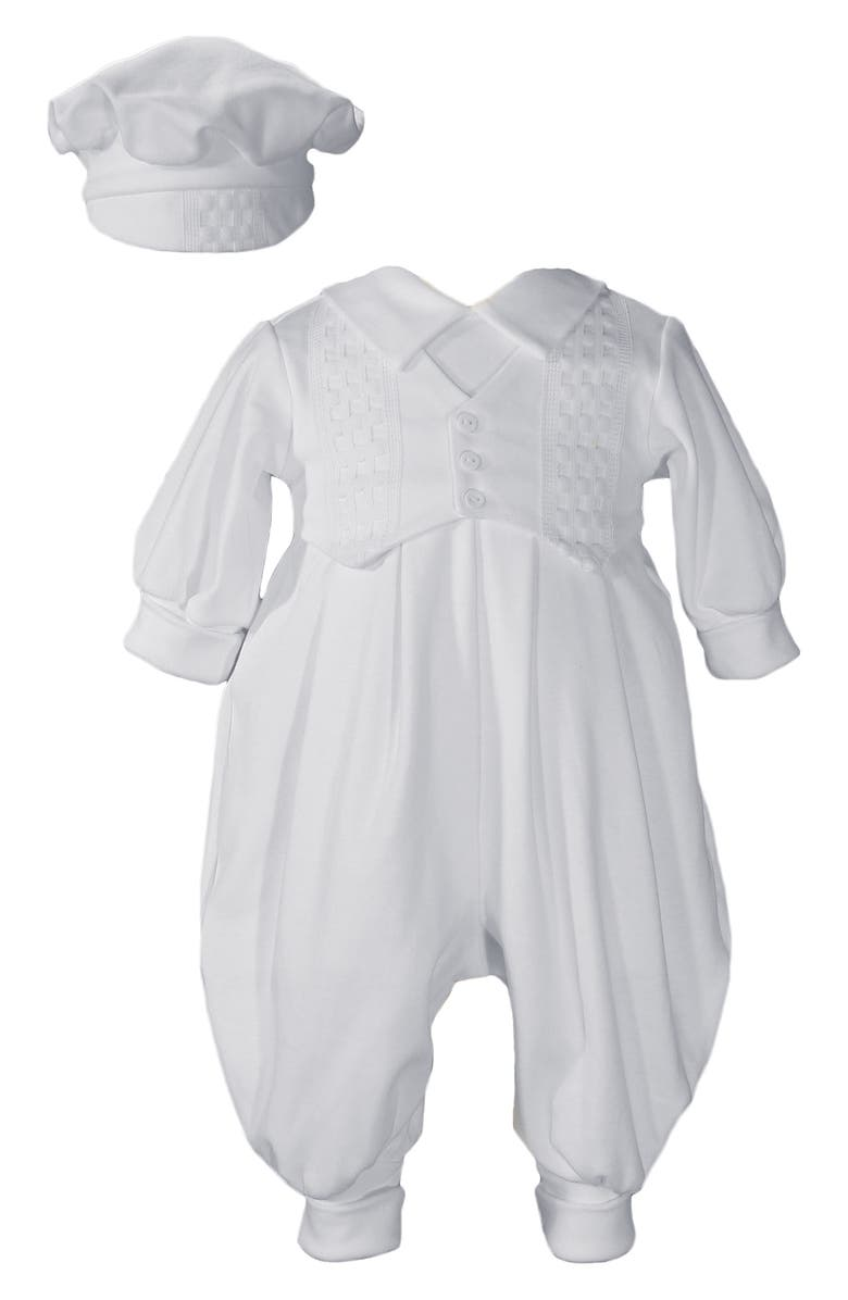 Little Things Mean A Lot Romper Hat Set Baby Boys
