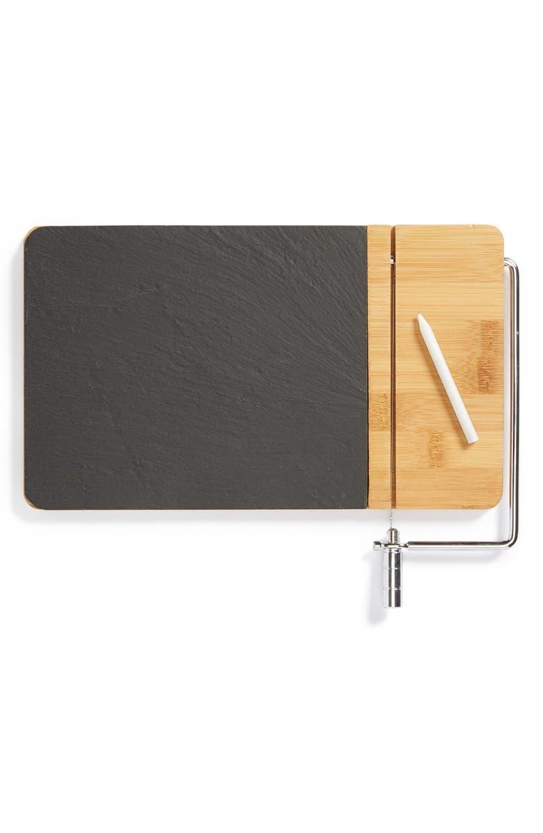 CORE HOME Slate & Bamboo Cheese Board, Main, color, 200