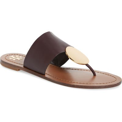 Tory Burch Patos Sandal- Brown