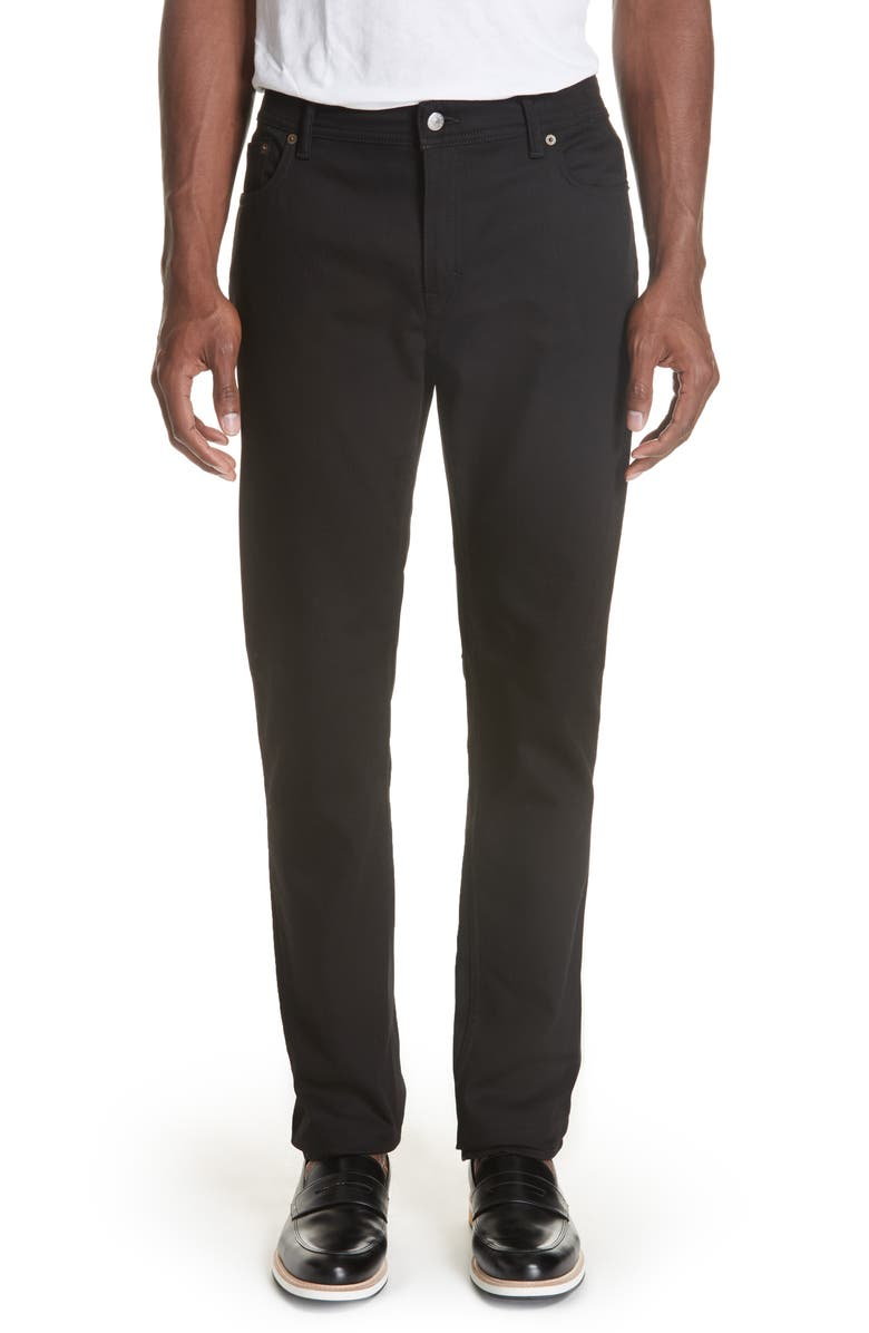 ACNE STUDIOS North Stay Slim Fit Jeans, Main, color, NORTH STAY BLACK