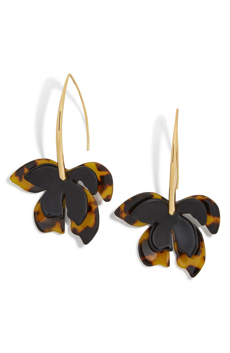BAUBLEBAR Orchid Drop Earrings, Main, color, 200