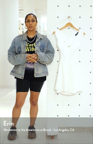 Going Steady Backless Skater Dress, sales video thumbnail