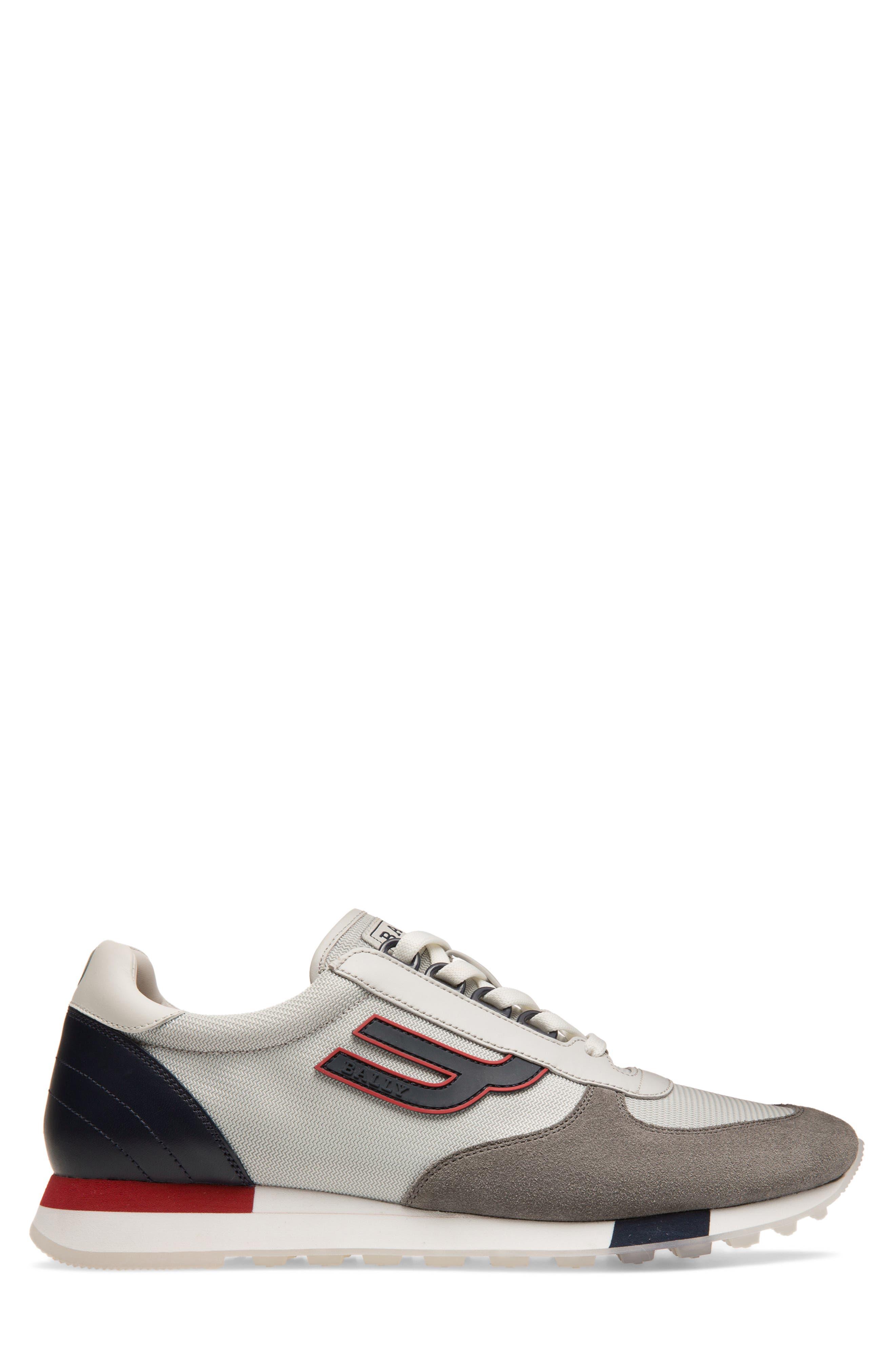 ,                             Gavino Low Top Sneaker,                             Alternate thumbnail 3, color,                             GREY