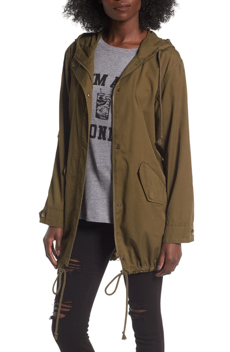 BP. Hooded Cotton Anorak, Main, color, 311