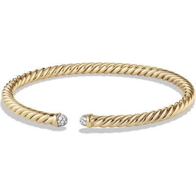 David Yurman Cable Spira Bracelet In 18K Gold, m