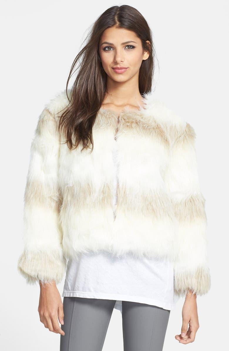 RAGA Faux Fur Jacket, Main, color, 900